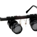 Okulary lornetkowe